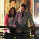 Jennifer Syme and Keanu Reeves