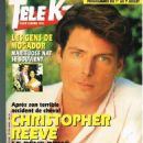 Christopher Reeve - Tele K7 Magazine Cover [France] (26 June 1995)