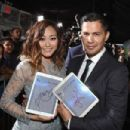 Karen Fukuhara and Jay Hernandez at 'Suicide Squad' Premiere in New York 08/01/2016 - 454 x 302