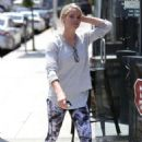 Ashley Greene heads to LaserAway in Beverly Hills