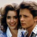 Michael Fox and Claudia Wells