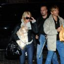 Jessica Simpson Returns Back To Her Hotel With Her Dog (Oct 2006)