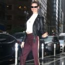 Behati Prinsloo – Victoria's Secret Fittings in New York