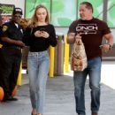 Lily Rose Depp – Leaving a LA grocery store - 454 x 487