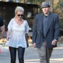 Britney  with boyfriend David Lucado