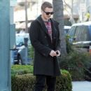 Hayden Christensen meets some friends for lunch in Beverly Hills, California on January 8, 2015 - 426 x 594