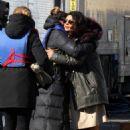 Priyanka Chopra – On location with the cast of Quantico in New York City - 454 x 681