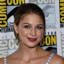 Melissa Benoist – 'Supergirl' Press Line at Comic-Con 2016 in San Diego - 454 x 592