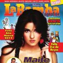 Maite Perroni - La Bamba Magazine Cover [United States] (31 December 2010)