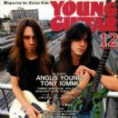 Dave 'The Snake' Sabo, Scotti Hill - Young Guitar Magazine Cover [Japan] (December 1992)