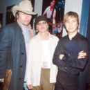 Beck and Ellen Degeneres and Dwight Yoakam - 397 x 600