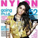 Maya Arulpragasam - Nylon Magazine Cover [Singapore] (January 2014)