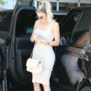 Khloe Kardashian are spotted at Milk Studios in Hollywood, California on July 19, 2016 - 404 x 600