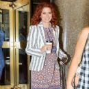 Debra Messing – Leaving NBC Studios in NYC - 454 x 752