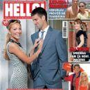 Novak Djokovic and Jelena Ristic - 454 x 586