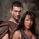 Andy Whitfield As Spartacus And Erin Cummings As Sura In Spartacus: Blood And Sand