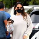 Olivia Munn – Seen leaving a gym in LA