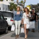 AnnaLynne and Angel Mccord Leaves Revolve Social Club in LA - 454 x 303