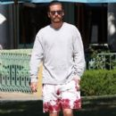 Scott Disick  out running errands in Calabasas, California on August 2, 2016