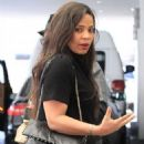 Sanaa Lathan was spotted out having lunch with Brian Grazer in Beverly Hills, California on March 24, 2017 - 454 x 568