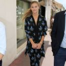 Nina Agdal Out and About In Cannes