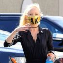 Anne Heche – Seen at the dance studio in Los Angeles