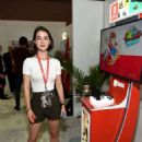 Adelaide Kane – Nintendo Booth at the E3 Gaming Convention in LA - 454 x 659