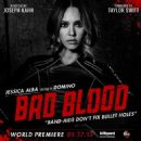 Jessica Alba as Domino in Taylor Swift: Bad Blood