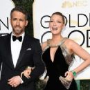 Ryan Reynolds and Blake Lively : 74th Annual Golden Globe Awards - 454 x 330