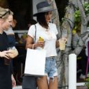 Jessica Szohr at Mauro's Cafe in West Hollywood, October 2016 - 454 x 727