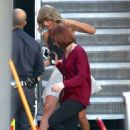 Taylor Swift Leaves Jimmy Kimmel Live In Hollywood