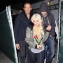 Christina Aguilera and Matthe Rutler's Holiday Date Night