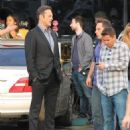Vince Vaughn is spotted on the set of the hit HBO series 'True Detective' filming in Los Angeles, California on January 30, 2015 - 454 x 534