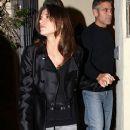 George Clooney at Gallura Restaurant