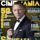 Daniel Craig - Cinemanía Magazine Cover [Mexico] (October 2012)