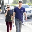 Amy Adams & Darren Le Gallo Out and About in Beverly Hills  (February 12, 2014)