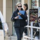 Charlize Theron – Heads to a meditation class in Beverly Hills