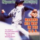Fernando Valenzuela - Sports Illustrated Magazine Cover [United States] (8 July 1985)