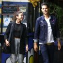 Sarah Hyland and Wells Adams – Leaving Pace restaurant in LA