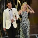 Benedict Cumberbatch and Naomi Watts At The 87th Annual Academy Awards - Show (2015)