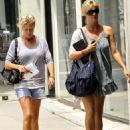 Rachel Hunter - Furniture Shopping In Los Angeles, CA, July 27, 2010