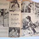 Jerry Lewis - Cine-Fan Magazine Pictorial [Brazil] (January 1957) - 454 x 340
