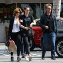 Lisa Rinna is seen out doing some shopping with her family in Los Angeles, California on March 26, 2017 - 454 x 363