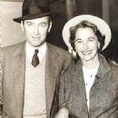 Gloria Hatrick McLean and Jimmy Stewart