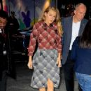 Blake Lively Arriving At Good Morning America In Nyc