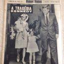 John F. Kennedy - Fatos E Fotos (fatosefotos) Magazine Pictorial [Brazil] (23 November 1963) - 454 x 570