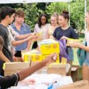 Maddie and Mackenzie Ziegler – Pack 750 backpacks to donate to foster kids and homeless teens in LA