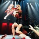 Taylor Swift performs onstage during KIIS FM's 2012 Jingle Ball at Nokia Theatre L.A. Live on December 1, 2012 in Los Angeles, California