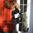 Ashley Tisdale - Visiting A Friend's House In Toluca Lake, 2009-12-11