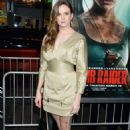 Danielle Panabaker – 'Tomb Raider' Premiere in Hollywood - 454 x 705
